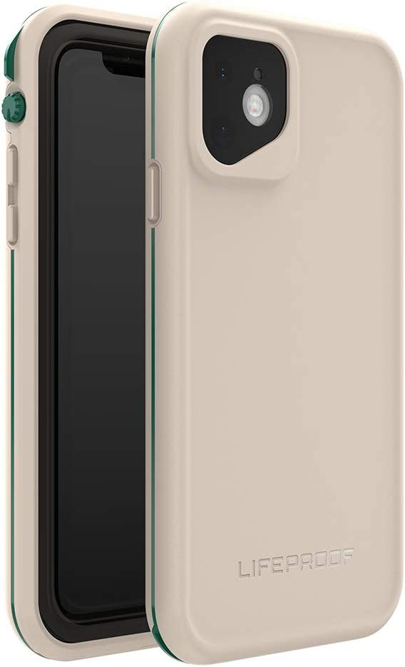 LifeProof FRĒ SERIES Waterproof Case for iPhone 11 - CHALK IT UP (EVERGLADE/CHATEAU GRAY)