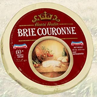 French Brie Couronne Double Cream by Henri Hutin - 1 Kilo (2.2 pound)