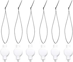 OSALADI 24 peças de lanternas de papel penduradas, mini luzes de festa para Natal, casamento, aniversário, festa, decoraçã...