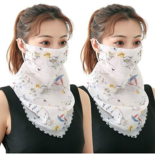 SGZJ Respiradores de algodón unisex, antipolvo, protección contra la contaminación en bicicleta, media oreja Bandana