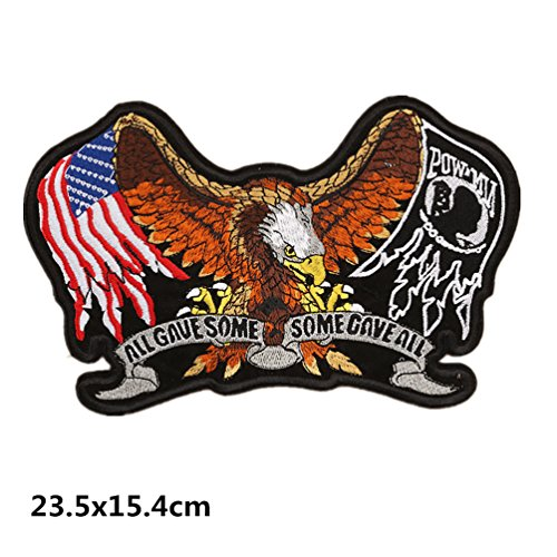 Bella Parches Apliques Sticker Parche Águila Bandera Americana Bordad