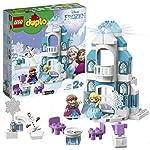 LEGO-Duplo-Princess-il-Castello-di-Ghiaccio-di-Frozen-Unisciti-ad-Elsa-Anna-ed-Olaf-un-Mattoncino-Luminoso-Consente-di-Illuminare-con-Tanti-Colori-Set-di-Costruzioni-per-Bambini-dai-2-Anni-10899