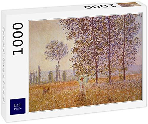 Lais Puzzle Claude Monet - Pioppi alla Luce del Sole 1000 Pezzi