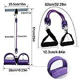 Zoom IMG-1 soumit pedale resistenza rope estensore