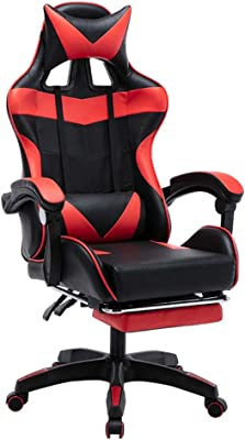 WPF ZTT Computer Chairs,Home Owner Chair,WCG Game Chair,Can Lie Anchor Esports Chairs,Office Chair,Game Chair,for Bedroom Children's Room Office (Color : E)