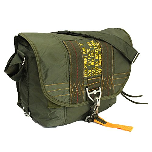 US Army Para Bag Paratrooper Packtasche Fallschirmspringer Kampftasche 3 (Oliv)