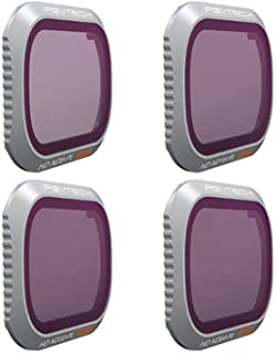 PGY Tech Adv 4-Pack ND-PL Filter Set for Mavic 2 Pro ND(8-PL/16-PL/32-PL/64-PL)