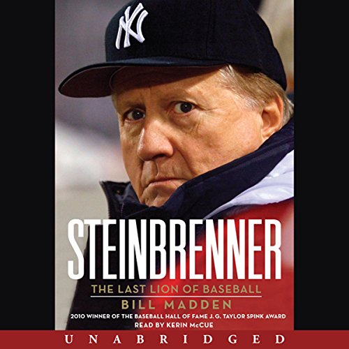 Steinbrenner audiobook cover art