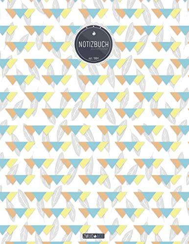 ZMUDACE Notizbuch Punktraster: in DIN A4 Softcover |