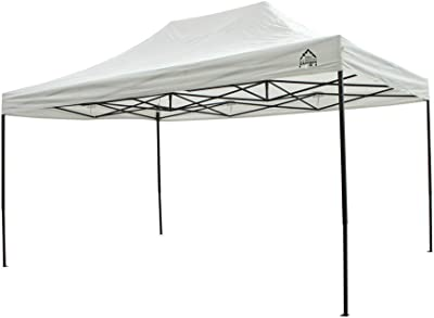 Cenador Impermeable para Todas Las Estaciones de 3 x 4, 5 m, Color Blanco, tamaño 3x4.5m, 157 x 26 x 23centimeters: Amazon.es: Jardín
