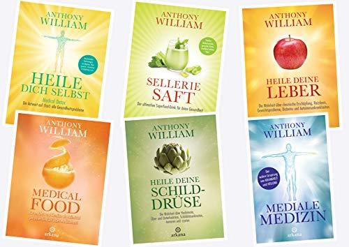 Anthony William Mediale Medizin Heilwissen Reihe (arkana Verlag)