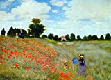Das Museum Outlet–Mohn von Monet–Poster (61x
