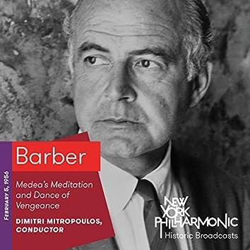 Barber: Medea's Meditation and Dance of Vengeance (Recorded 1956)
