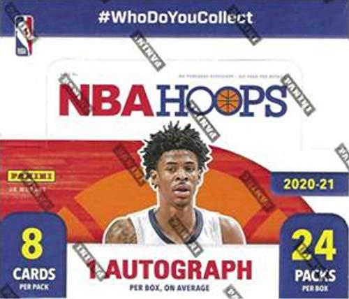 2020/21 Panini Hoops NBA Basketball RETAIL box (24 pks/bx)