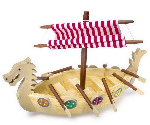 small foot design Barco Vikingo