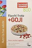 Germinal Bio Fiocchi Frutta e Goji - 8 confezioni da 300 gr - 2400 gr
