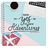 Honeymoon Adventure Journal with Stickers - A 8x8' Photo Album for Newlywed Couples - Special Memory...