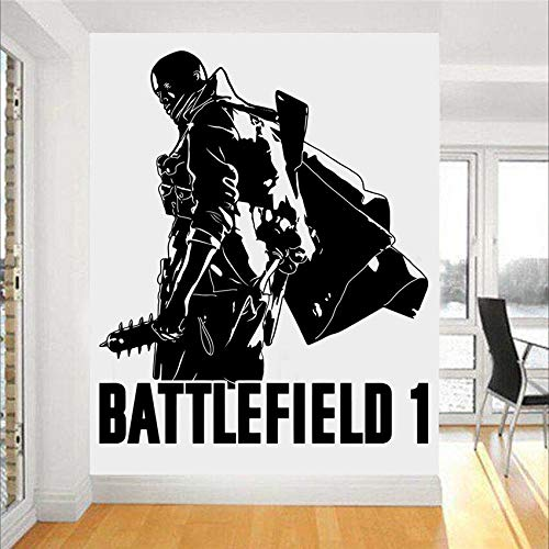 Gadgets Wrap Battlefield 1 Gaming Xbox PS4 Game Wall Art Sticker Decal Art Decal Boys Girls Living Room Bedroom Poster