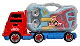 Toyshine Truck Series Tool Box Toy with Briefcase, Projector in the Truck, Interactive Educational Toy