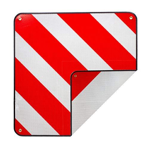 Warntafel Warnschild Spanien und Italien 2 in1 rot-weiß Alu Warnschild 50x50cm