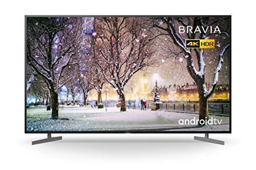 Sony BRAVIA KD65XH81 - 65-inch - LED - 4K Ultra HD - High Dynamic Range (HDR) - Smart TV (Android TV) - with Voice Remote - (Black, 2020 model)