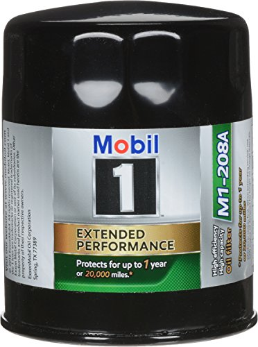 Mobil 1 M1-208A Extended Performance Oil Filter, 2 Pack,