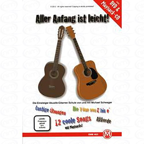 Todos los Principios de es fácil–Arreglados para guitarra–con CD–con DVD [de la fragancia/Alemán] Compositor: Cuñado Michael