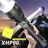 160000LM Más Poderoso XHP90 Linterna LED XLamp Linterna Zoom XHP70 USB Recargable Lámpara...