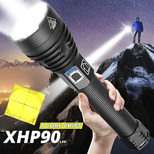 160000LM Más Poderoso XHP90 Linterna LED XLamp Linterna
