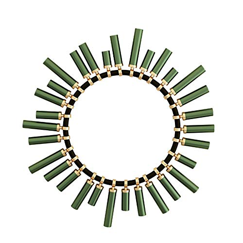 JXSM Arte de Pared de Metal, Gafas de Sol Decoración de Pared de Hierro Forjado - Mural de Escultura de Imagen de diseño contemporáneo 60 cm (23,6 Pulgadas)