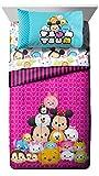 Disney Tsum Comforter with Twin Sheet Set Bedding Ensemble
