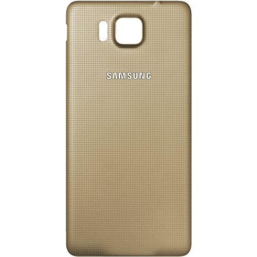 Original Akkufachdeckel Gold für Samsung G850F Galaxy Alpha Original