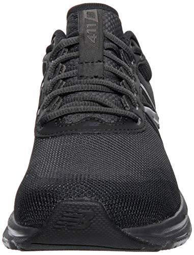 New Balance M411V2, Zapatillas para Correr Hombre, Negro Completo, 49 EU