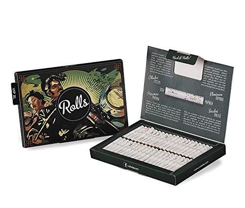 Rolls Smart Filter Tips-80 Stück (6mm Slim) VIP Pack XL (Grün), Rolls69 Vorteilspack I Eindrehfilter mit Kühlsystem, Spezial Fertig Vorgerollter Filtertip, Keine Aktivkohle