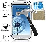 Protector Pantalla Cristal Templado compatible con Samsung Galaxy S3 Maxima Proteccion Premium