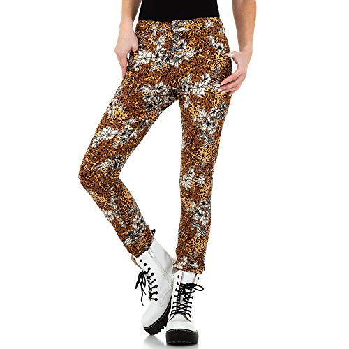Ital-Design Boyfriend Skinny Jeans Place du Jour Gr. 40 Braun