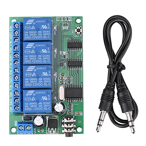12V AD22B04 DTMF Relé de Señal Decodificador de Teléfono de...