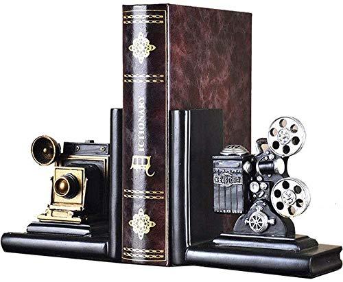 XLL Buchstütze, Kamera-Buchständer, Vintage-Stil, Bücherregal, Büro, Basteln, Dekorationen