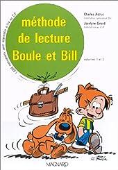 Boule et Bill - Méthode de lecture, CP (Coffret de 2 volumes) de Charles Astruc