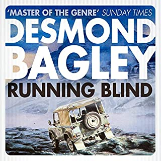 Running Blind audiobook cover art