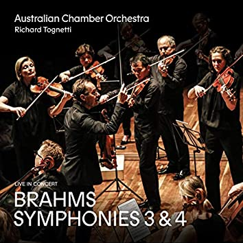 Brahms: Symphonies 3 and 4