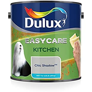 Dulux Easycare Kitchen Matt Paint, Chic Shadow, 2.5 Litre:Hashflur