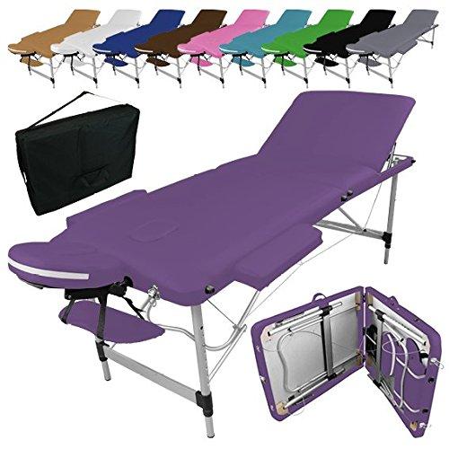 Vivezen Table de massage pliante 3 zones en...