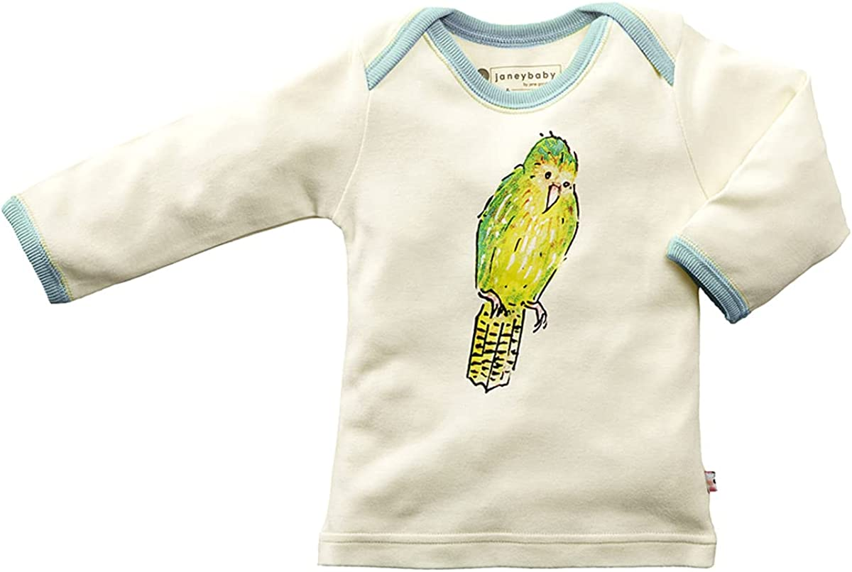 Babysoy Jane Goodall Long Sleeve Animal Tee