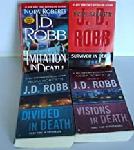 J.D. Robb Eve Dallas Series 17-20 (Imitation in Death, Divided in Death, Visions in Death, Survivor in Death)