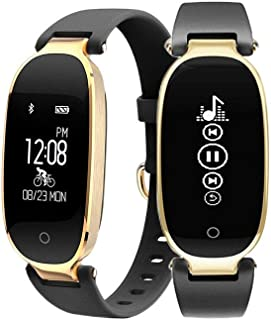FociPow Fitness Tracker, Activity Tracker Watch with Heart Rate Monitor, Waterproof Smart Band with Step Counter, Calorie Counter, Pedometer Watch for Kids Women, Android & iOS