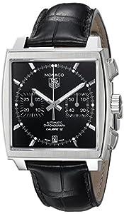 TAG Heuer Men's CAW2110.FC6177 Monaco Calibre 12 Automatic Chronograph Watch