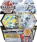 BAKUGAN Ultra, Haos Pegatrix con transformación Baku-Gear, Armored Alliance Figura de acción Coleccionable de 3 Pulgadas de Altura