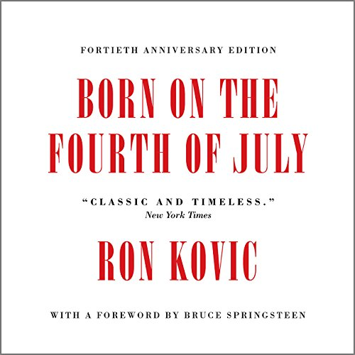 Born on the Fourth of July audiobook cover art
