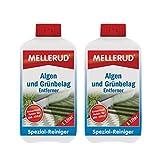 2x Mellerud alghe e verde rivestimento di rimozione (1litro)